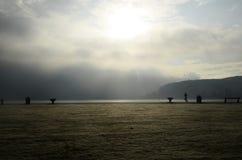 Λίμνη του Annecy στη Γαλλία Στοκ εικόνες με δικαίωμα ελεύθερης χρήσης