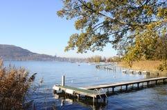 Λίμνη του Annecy στη Γαλλία Στοκ Εικόνα