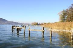 Λίμνη του Annecy στη Γαλλία Στοκ Εικόνες