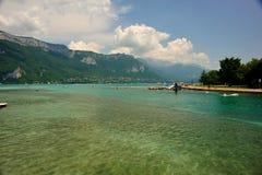 λίμνη του Annecy Στοκ φωτογραφία με δικαίωμα ελεύθερης χρήσης