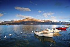 λίμνη του Annecy Στοκ εικόνες με δικαίωμα ελεύθερης χρήσης