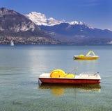 λίμνη του Annecy Στοκ Φωτογραφίες