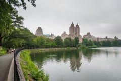 Λίμνη του Central Park, NYC Στοκ Φωτογραφία