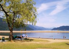 Λίμνη του Harrison, Π.Χ. Στοκ φωτογραφία με δικαίωμα ελεύθερης χρήσης