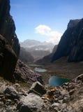 Λίμνη τρία κοιλάδα Παπούα Meren Στοκ φωτογραφίες με δικαίωμα ελεύθερης χρήσης