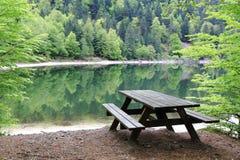 Λίμνη των κορακιών στα Vosges Στοκ Εικόνες
