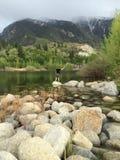 Λίμνη φαραγγιών κουδουνιών στοκ φωτογραφίες