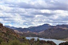 Λίμνη φαραγγιών, κράτος της Αριζόνα, Ηνωμένες Πολιτείες Στοκ Φωτογραφίες