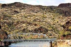 Λίμνη φαραγγιών, κράτος της Αριζόνα, Ηνωμένες Πολιτείες Στοκ εικόνα με δικαίωμα ελεύθερης χρήσης