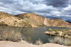 Λίμνη φαραγγιών, κράτος της Αριζόνα, Ηνωμένες Πολιτείες Στοκ Εικόνες