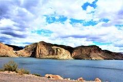 Λίμνη φαραγγιών, κράτος της Αριζόνα, Ηνωμένες Πολιτείες Στοκ Φωτογραφία