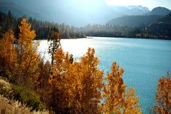 λίμνη φθινοπώρου στοκ εικόνα