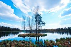 Λίμνη φθινοπώρου Στοκ Φωτογραφία