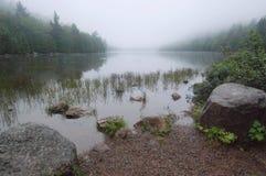 λίμνη φυσαλίδων acadia Στοκ φωτογραφία με δικαίωμα ελεύθερης χρήσης