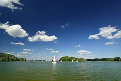 Λίμνη. Στοκ Εικόνες