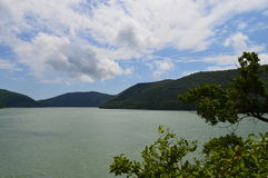 Λίμνη Abrau Στοκ φωτογραφία με δικαίωμα ελεύθερης χρήσης