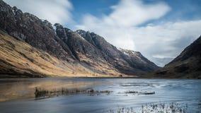 Λίμνη Achtriochtan σε Glencoe, Σκωτία Στοκ φωτογραφία με δικαίωμα ελεύθερης χρήσης