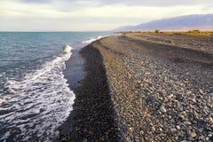 Λίμνη Alakol, Καζακστάν Στοκ εικόνα με δικαίωμα ελεύθερης χρήσης