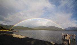 λίμνη anau te Στοκ εικόνα με δικαίωμα ελεύθερης χρήσης