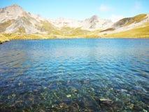 Λίμνη Angelus, λίμνες του Nelson, Νέα Ζηλανδία Στοκ Φωτογραφίες