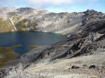 Λίμνη Angelus, λίμνες του Nelson, Νέα Ζηλανδία Στοκ φωτογραφία με δικαίωμα ελεύθερης χρήσης