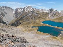 Λίμνη Angelus, εθνικό πάρκο λιμνών του Nelson, νότιο νησί, Νέα Ζηλανδία Στοκ φωτογραφία με δικαίωμα ελεύθερης χρήσης