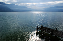 Λίμνη Annecy, Γαλλία, Ευρώπη Στοκ φωτογραφία με δικαίωμα ελεύθερης χρήσης