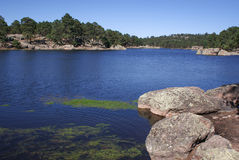 Λίμνη Arareco στις ορεινές περιοχές των φαραγγιών χαλκού σε Chihuahua, εγώ Στοκ εικόνες με δικαίωμα ελεύθερης χρήσης