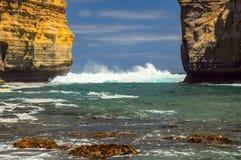 Λίμνη ARD φαραγγιών στην αυστραλιανή παράλια Ειρηνικού Στοκ εικόνες με δικαίωμα ελεύθερης χρήσης