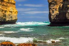 Λίμνη ARD φαραγγιών στην αυστραλιανή παράλια Ειρηνικού Στοκ φωτογραφίες με δικαίωμα ελεύθερης χρήσης