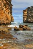 Λίμνη ARD φαραγγιών στην αυστραλιανή παράλια Ειρηνικού Στοκ Εικόνες
