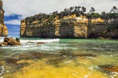 Λίμνη ARD φαραγγιών στην αυστραλιανή παράλια Ειρηνικού Στοκ εικόνα με δικαίωμα ελεύθερης χρήσης