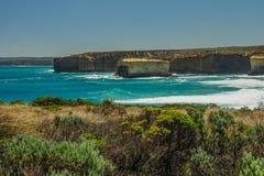 Λίμνη ARD φαραγγιών στην αυστραλιανή παράλια Ειρηνικού Στοκ φωτογραφία με δικαίωμα ελεύθερης χρήσης