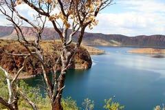 Λίμνη argyle στη δυτική Αυστραλία Στοκ εικόνα με δικαίωμα ελεύθερης χρήσης