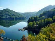 Λίμνη Bâlea Στοκ Φωτογραφίες