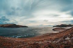 Λίμνη baikal σαμάνων βράχου στοκ εικόνες με δικαίωμα ελεύθερης χρήσης