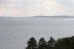 Λίμνη Balaton στοκ φωτογραφίες με δικαίωμα ελεύθερης χρήσης