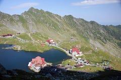 Λίμνη Balea, βουνά Fagaras Στοκ φωτογραφία με δικαίωμα ελεύθερης χρήσης