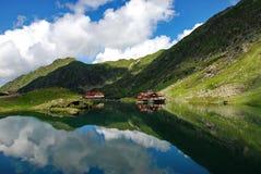 Λίμνη Balea Στοκ Φωτογραφίες