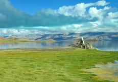 Λίμνη Bangong Στοκ φωτογραφία με δικαίωμα ελεύθερης χρήσης