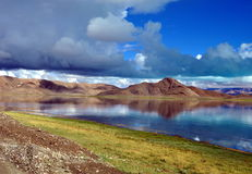 Λίμνη Bangong Στοκ Εικόνα