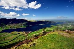 Λίμνη Bassenthwaite από Dodd Στοκ φωτογραφία με δικαίωμα ελεύθερης χρήσης