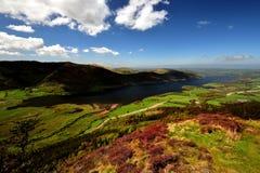 Λίμνη Bassenthwaite από Dodd Στοκ εικόνες με δικαίωμα ελεύθερης χρήσης