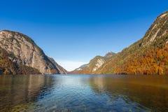 Λίμνη Berchtesgaden, Γερμανία Konigssee Στοκ Εικόνες