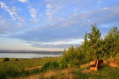 Λίμνη Berzdorf Στοκ εικόνες με δικαίωμα ελεύθερης χρήσης