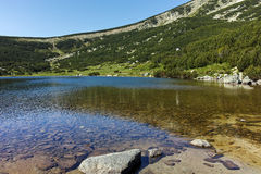 Λίμνη Bezbog, βουνό Pirin Στοκ φωτογραφίες με δικαίωμα ελεύθερης χρήσης