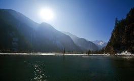 λίμνη bipengou στοκ φωτογραφία