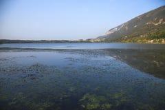 Λίμνη Blu Στοκ Φωτογραφίες