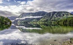 Λίμνη Bohinj Στοκ Φωτογραφία