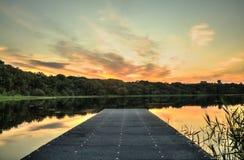 Λίμνη Brantry Στοκ εικόνες με δικαίωμα ελεύθερης χρήσης